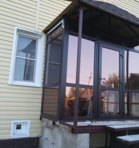 Крыльцо и окна ПВХ